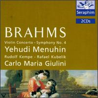 Brahms: Violin Concerto von Various Artists