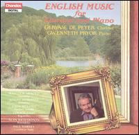 English Music for Clarinet & Piano von Gervase de Peyer