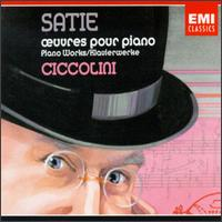 Satie: Piano Works von Aldo Ciccolini