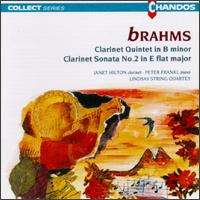 Johannes Brahms: Clarinet Quintet in B Minor Op.115/Sonata in E Flat Major for Clarinet and Piano,Op.120 No.2 von The Lindsays