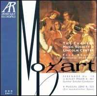 "Mozart: Serenade No. 10, ""Gran Partita""; A Musical Joke von Chamber Music Society of Lincoln Center"