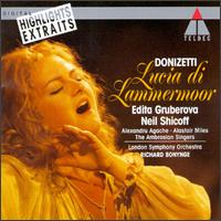 Donizetti: Lucia Di Lammermoor [Highlights] von Richard Bonynge