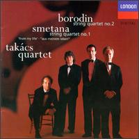 Alexander Borodin: String Quartet No. 2; Bedrich Smetana: String Quartet No. 1 von Various Artists