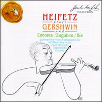 Heifetz Plays Gershwin and Encores von Jascha Heifetz