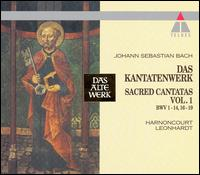 Bach: Sacred Cantatas, Vol. 1, BWV 1-14, 16-19 [Box Set] von Various Artists
