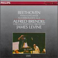 Beethoven: Piano Concertos Nos. 3 & 4 von James Levine