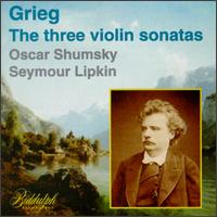 Edvard Grieg: The Three Violin Sonatas von Various Artists