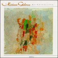 A Miriam Gideon Retrospective von Various Artists