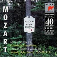 Mozart: Serenade No. 10, K361; Sonata, K292 von Various Artists