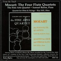 Mozart: The Four Flute Quartets; Quartet for Oboe & Violin von Various Artists
