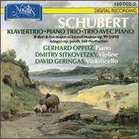 Franz Schubert: Piano Trio, Op.99/Adagio Op. Posth. 148 von Various Artists