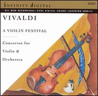 A Violin Festival: Concertos by Vivaldi for Violin & Orchestra von Various Artists