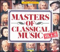 Masters of the Opera, Vols. 6-10 (Box Set) von Various Artists