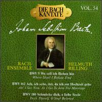 The Bach Cantata, Vol. 54 von Helmuth Rilling