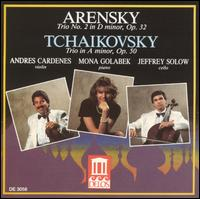 Arensky & Tchaikovsky: Piano Trios von Various Artists