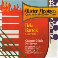 Olivier Messiaen: Quartet for the End of Time; Bartók: Contrasts von Various Artists