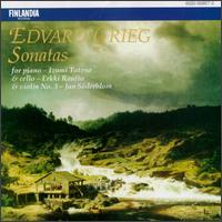 Edvard Grieg: Sonatas For Piano, Cello And Violin von Various Artists