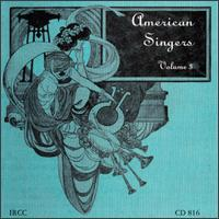 American Singers, Volume 3 von Various Artists