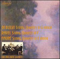 Debussy, Ravel, Fauré: String Quartets von Various Artists