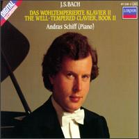 Bach: The Well Tempered Clavier Book II von András Schiff