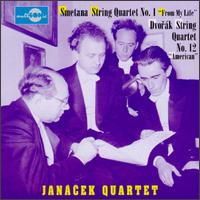 "Smetana: Ouartet ""From My Life/Dvorák: Quartet ""American"" von Various Artists"