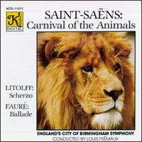 Saint-Saëns: Carnival of the Animals/Litolff: Scherzo/Fauré: Ballade for Piano and Orchestra/Mendelssohn: Rondo Brill von Various Artists