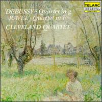 Debussy: Quartet In G; Ravel: Quartet In F von Various Artists