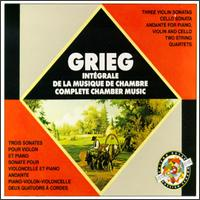 Grieg: Complete Chamber Music von Various Artists