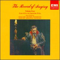 The Record of Singing, Vol. 4 von Various Artists