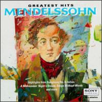 Mendelssohn: Greatest Hits von Various Artists