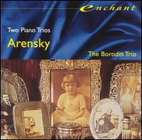 Arensky: Piano Trios Nos. 1 & 2 von Various Artists