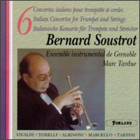 Six Concertos for Trumpet & Strings von Bernard Soustrot