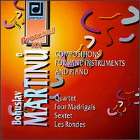 Martinu: Compositions For Wind Instruments And Piano von Various Artists