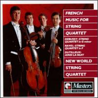 French Music For String Quartet von New World String Quartet