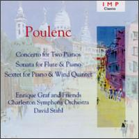 Poulenc: Concerto for Two Pianos; Sonata for Flute & Piano; Sextet for Piano & Wind Quintet von Various Artists