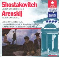 Arensky: Violin Concerto; Shostakovich: Violin Concerto No. 1 von Various Artists