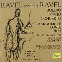 Ravel conducts Ravel von Marguerite Long
