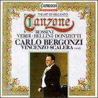 The Art of Belcanto Canzone von Carlo Bergonzi