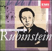 The Legendary Rubinstein von Artur Rubinstein