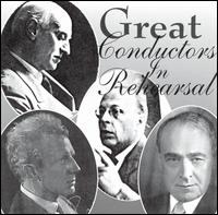 Great Conductors In Rehearsal von Various Artists