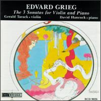 Edvard Grieg The 3 Sonatas for Violin and Piano von Various Artists