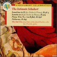 The Intimate Schubert-Four Great Duos and Trios von Various Artists