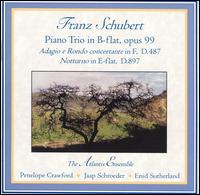 Schubert: Music for Piano Trio, Vol. 1 von Atlantis Ensemble