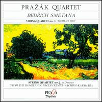 Smetana: String Quartets/From the Homeland von Prazák Quartet