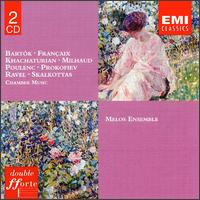 Bartok, Francaix, Khachaturian, Poulenc and others: Chamber Music von Melos Ensemble of London