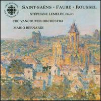 Music for Piano and Orchestra by Saint-Saëns, Fauré and Roussel von Stephane Lemelin