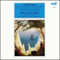 Fauré: Piano Works, Vol. 5 von Paul Crossley