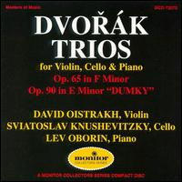 Dvorák: Piano Trios von Various Artists