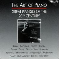 The Art of Piano: Great Pianists of the 20th Century von Various Artists