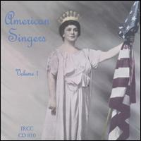 American Singers, Volume 1 von Various Artists